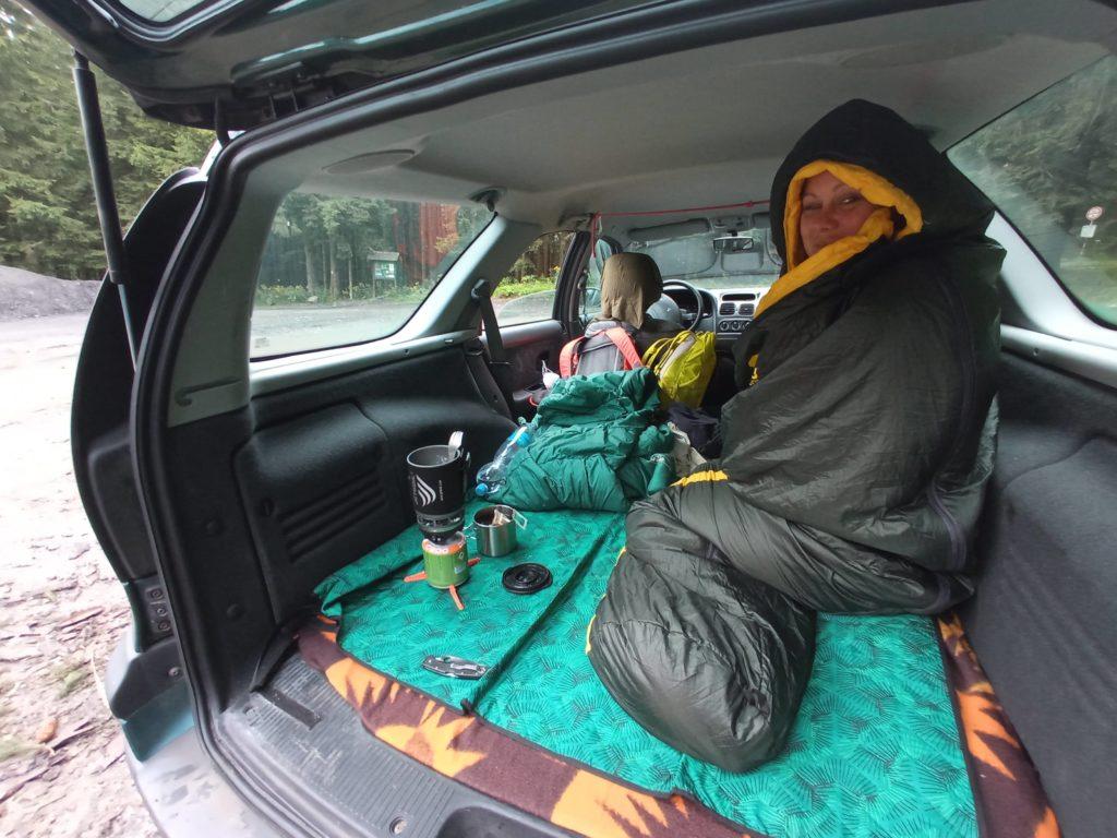 Výlet v autě
